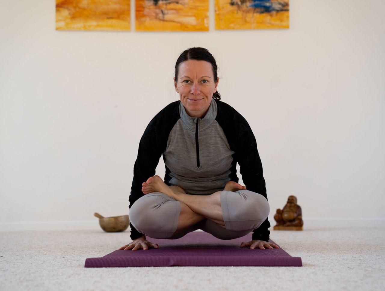 Stéphanie au Dojo Zen en Bauges - La Motte en Bauges